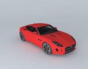 3D model 2015 Jaguar F Type R Coupe