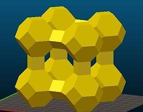 LTA-type Zeolite 3D print model