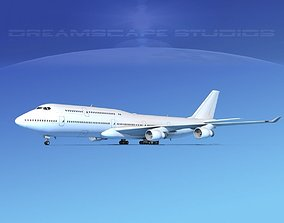 3D model Boeing 747-8I Unmarked