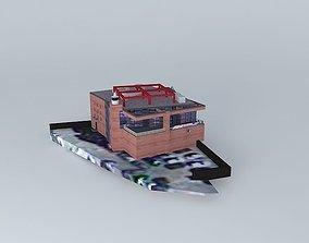 3D model Yakitori