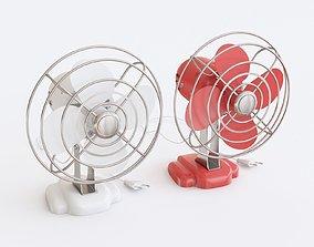Retro fan 3D