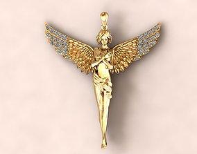 3D print model fallen Angel