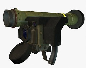 FGM-148 Javelin 3D model game-ready