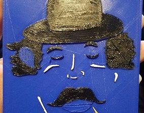 3D printable model Blues Man Tile