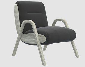 Camden Lounge Chair by Kelly Wearstler 3D asset