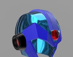3D printable model Megaman helmet