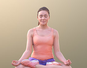 3D asset Nelly 10708 - Yoga Pose Girl