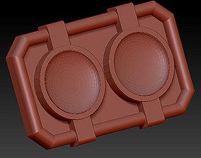Power Rangers Turbo Belt Buckle 3D printable model