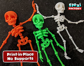 3D printable model Cute Flexi Print-in-Place