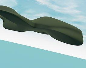 Spy Plane UAV 3D Exterior Design VR / AR ready