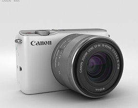 3D model Canon EOS M10 White