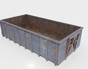 Trash Container 3 PBR 3D asset