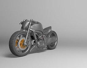 Kawasaki Ninja Street Fighter 3D model