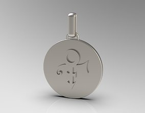 3D printable model Prince Name Medalion Pendant
