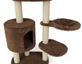 3D model Cat Tree Moriles