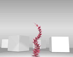 3D asset Wild Wine Vine - Parthenocissus - 3