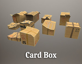 3D asset Card Box for Unreal
