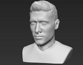 Robert Lewandowski World Cup 2018 bust ready for 3D