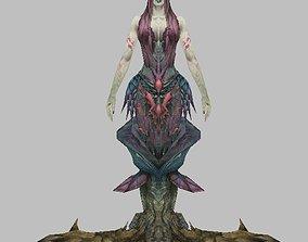 3D Monster Woman Character