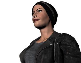 Alice Bitch gang of black dogs 3D model