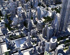 Future City HD 20 V 2 3D model