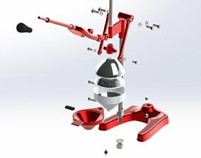 Mechanical Citrus Juicer Drawing files PDF 3D
