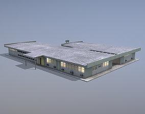 MilitaryBase PortoVelho Hospital 3D model