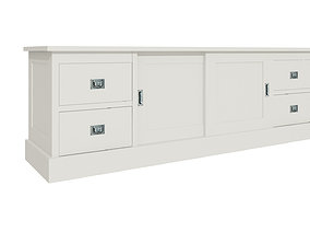 furniture White cabinets 3D