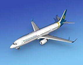 3D model Boeing 737-900ER Ukraine Intl