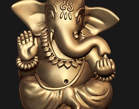 Ganesh Ji Model Ready For 3D Print miniatures