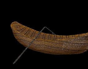 3D asset Old Rowboat