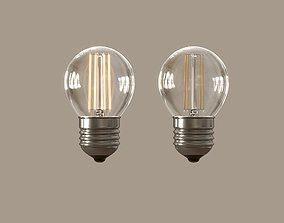 3D Incandescent Light Bulb