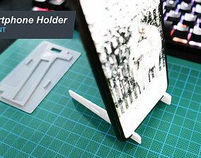 3D printable model Smartphone Holder stand slim for wallet