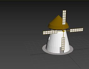 3D model SKC - Gristmill - Mill