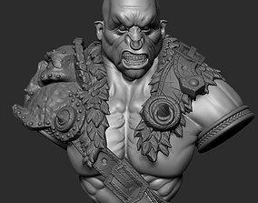 Ogre bust 2 3D printable model