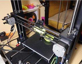 Anycubic i3Mega belt blocker and back 3D printable model 2