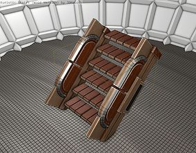 3D model Wood Stairs - Construction Element 22