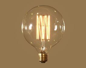 3D model Globe Light Bulb
