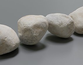 3D asset Sample stone