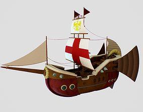 warcraft 3D printable model Ship Warcraft