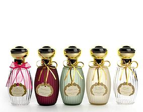3D model Annick Goutal Perfume Set