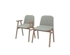 3D model Jardan Bay armchair