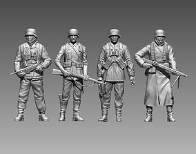 3D printable model military German soldiers