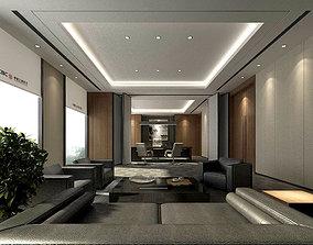 3D model boss manager office 03