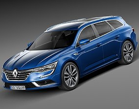 Renault Talisman Estate 2016 3D