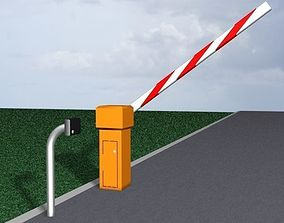 3D model Barrier Gate 1