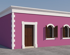 colonial 3D Mexican House