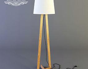 Bernua floor lamp by CHIARO 3D asset