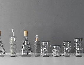 3D Lab Glassware
