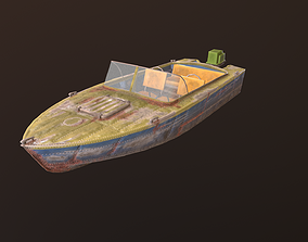 Boat Progress 2 3D model